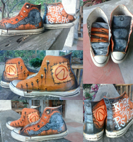 Krieg The Psycho Shoes by Py-Bun