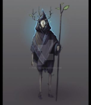Forest Creature character sketch by Itrebur