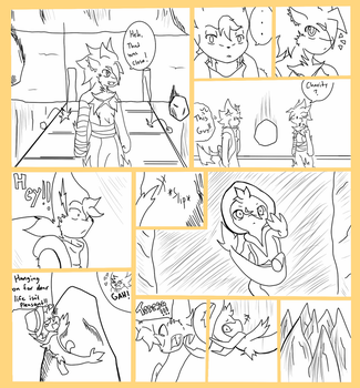 Dungeon Expedition : BHT page 20 by TezcaPancakes