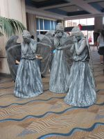 The  Weeping Angels 1 by Verlerious