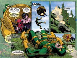 Deadpool: The Gauntlet #8 preview 1 by ReillyBrown