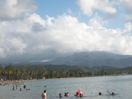 The mountains of yunque by andyburgos