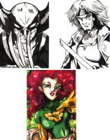 X-men Card Set1 by bastett