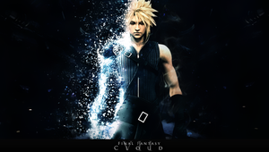 Cloud - PS VITA WALLPAPER by DomiNico20