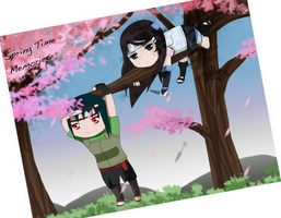 Spring Time Memories - March Collab by IgnisSorceress