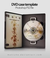 DVD Case+Art - PSD file by manicho
