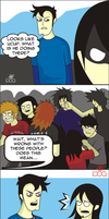 Lost in a Mosh Pit by razorificus