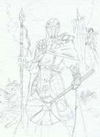 Mandalore I sketch by Kuk-Man