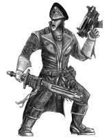 Ciaphas Cain, Commissar by Henskelion