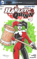 Harley Quinn Sketch Cover 3 by BillMcKay