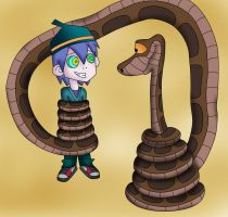 Kaa And Zick Color by jerrydestrtoyer