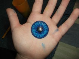 Resin Eye - Blue by EquinoxialSolstice