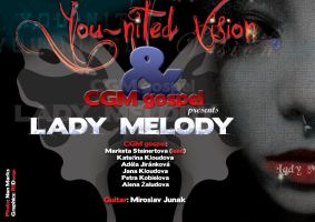 YnV-lady Melody single promo by R1Design