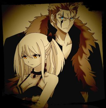Laxus x Lucy by Tominea