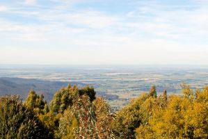 Mt Macedon view to Melbourne by dpt56