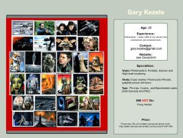 Gary Kezele - Card Artist by AstroVisionary