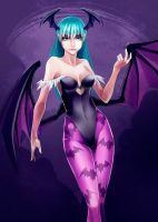 Morrigan Aensland by titi-artwork