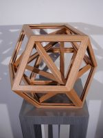 nesting polyhedrons by sharp-chisel