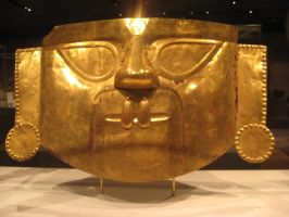 golden mask by Amor-Fati-Stock