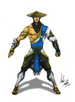 Raiden Alternate Design by soysaurus1