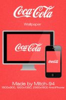 Coca-Cola Wallpaper and iPod by Mitch-94