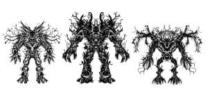 life colossus sketches by Duffator