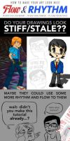 HOW TO MAKE YOUR ART LOOK NICE: Flow and Rhythm by trisketched