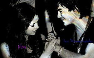 Ian and Nina by JanetAnn