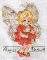 August Faerie Cross Stitch by susanjrobinson