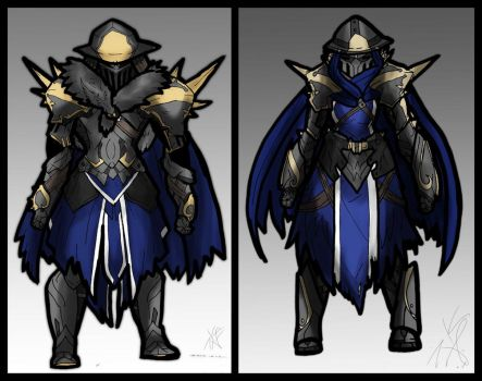 COMM///PALADIN UNDERLORD by KnightSlayer115