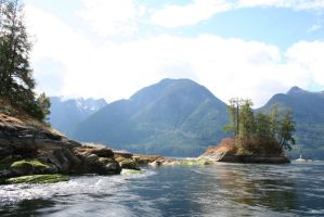 Princess Louisa Inlet Stock 11 by SimplyBackgrounds