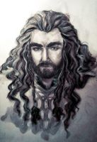 Thorin's portrait by IrbisN