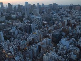 STOCK AIRBORNE IMAGERY JAPAN NO:010030027 by hirolus