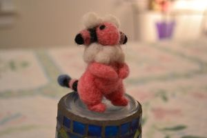 Needle Felted Flaaffy 3 by feltieflaffy
