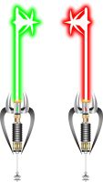 Keyblade Lightsabers by spex70