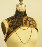 Steampunk Corset Halter by ElectraDesigns