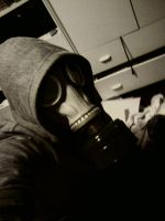 My Gas Mask 2 by CAT-Schrodinger-BOY