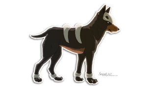 Houndour by Singarl