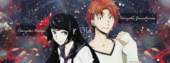 - Banner: Tanizaki Siblings - by Aria-chii