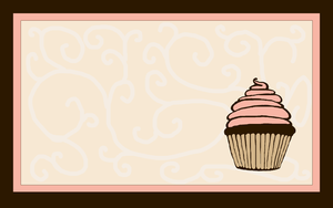 Pink Cupcake Wallpaper 2 by mrskupe