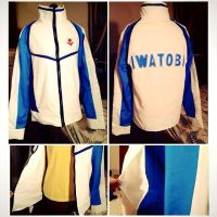 Commission: Iwatobi Track Jacket by xXSnowFrostXx