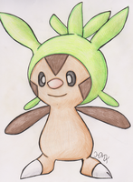 Chespin by Shabou