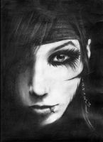 Andy Biersack by BleedingOffence