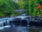 Ricketts Glen State Park 8 by Dracoart-Stock