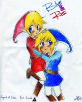 RedxBlue For Mimi by debuccino