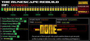 the Rebuild of Fatedemo22 - Runescape DONE by ownerfate