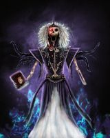 Vecna, deity of secrets by Silinde-Ar-Feiniel