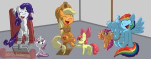 Cutie mark Crusaders, Tricks and Traps by Horrormage