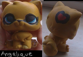 Angelique the Custom Cat by WolfLoverMarine