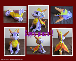 Spyro plush!! by OMINSD